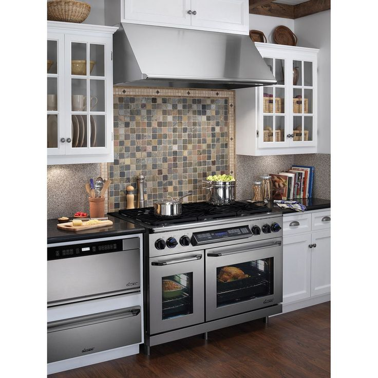 Kitchen Stoves With Double Ovens ~ Double oven burner stove kitchen addition pinterest