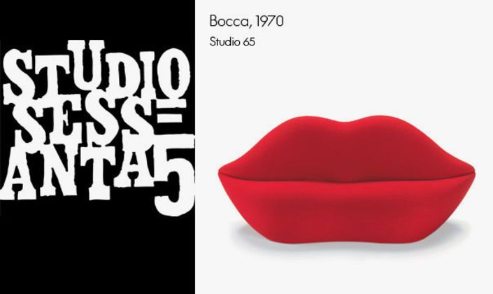 Bocca is Italian and means 'mouth' which explains where this piece of furniture has got its name from.