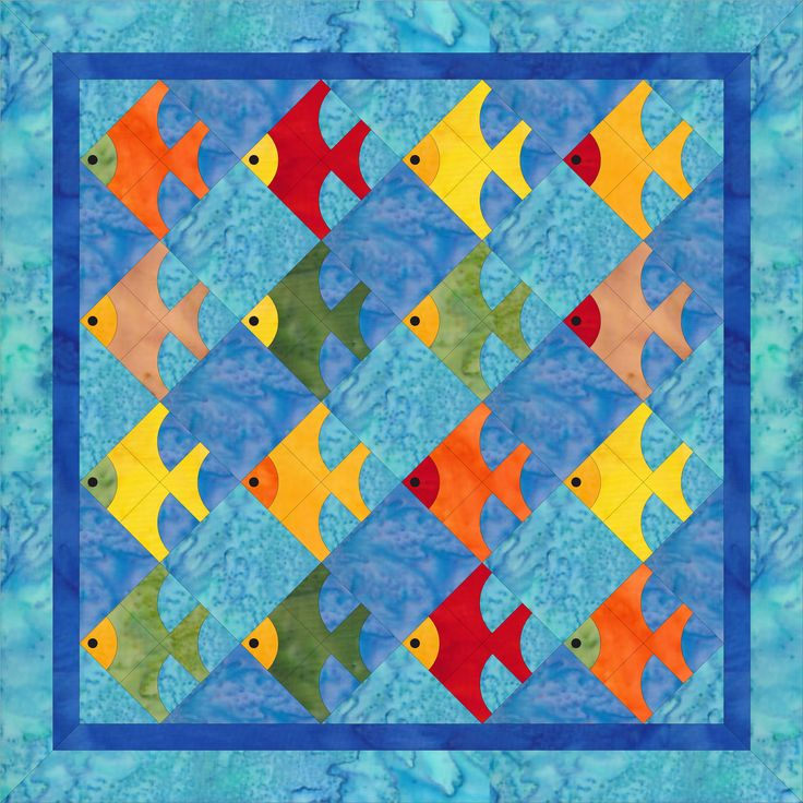 671 best FISH QUILTS/SEALIFE images on Pinterest | Boats ... : fish quilt - Adamdwight.com
