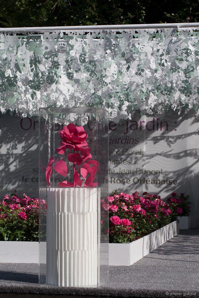 Бумажные декорации Congrès Mondial De La Rose