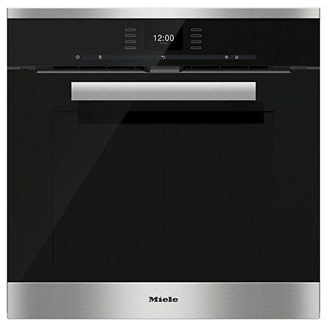 Miele H6660BP PureLine Single Electric Oven, H59.5 x W56 x D55cm £2,399
