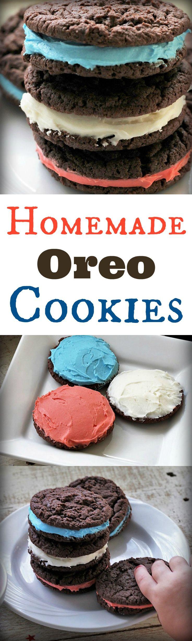 Homemade Oreo Cookies, Recipe Treasures Blog