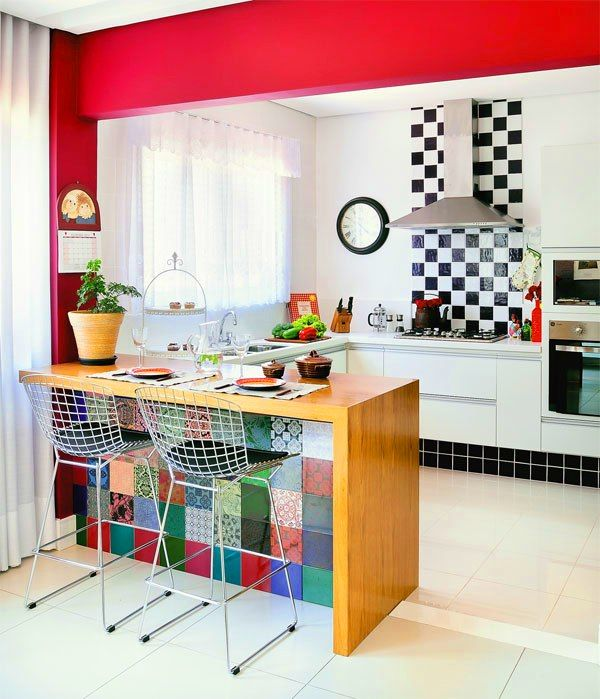 Cozinha-colorida: