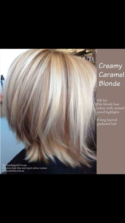 Creamy Carmel blonde