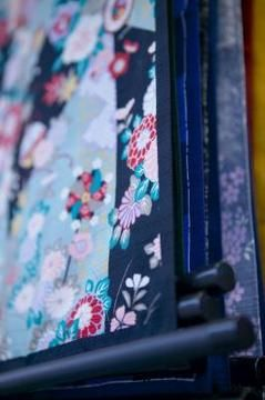 Give new life to old roller blinds with a new fabric covering.