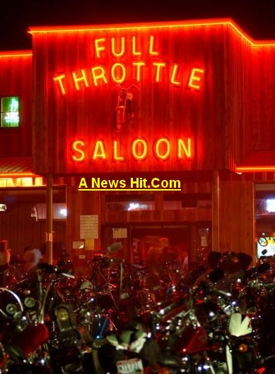 I will work at the Full Throttle Saloon for one week!