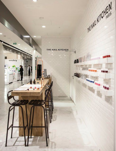 25 best ideas about nail bar on pinterest - Nail salon interior design photos ...