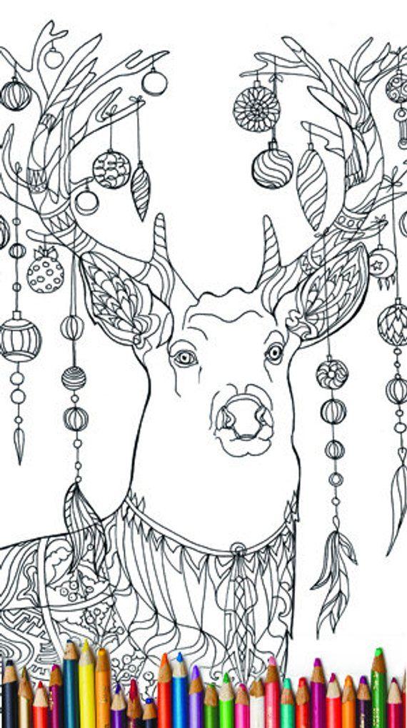 Christmas Coloring pages Zentangle 20 Pdf Christmas
