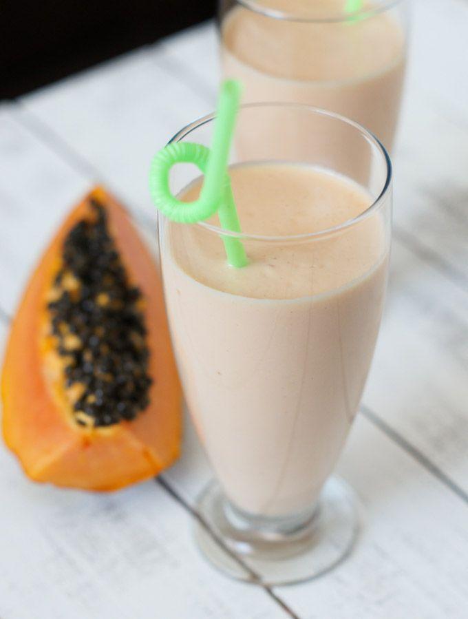 Papaya Milkshake (Batido de Lechoza)