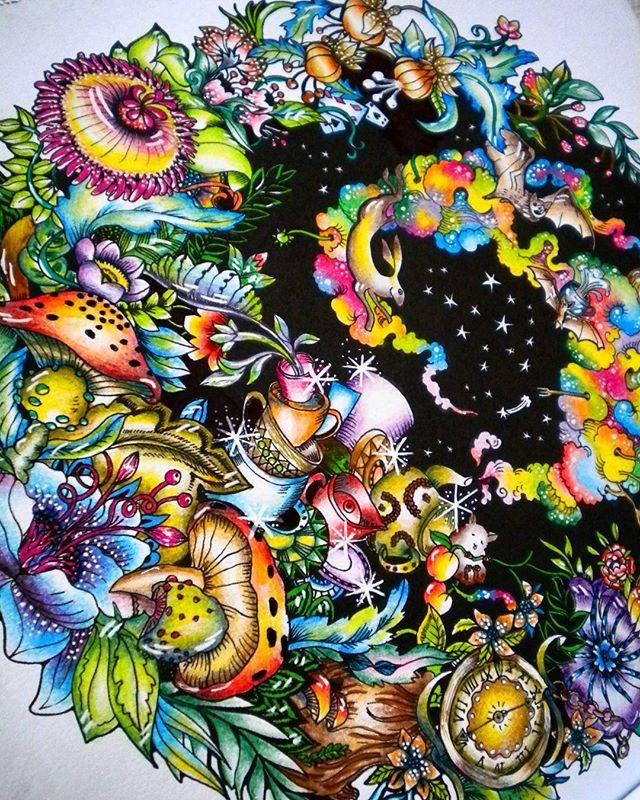 134 best Escape To Wonderland Coloring Book images on Pinterest ...