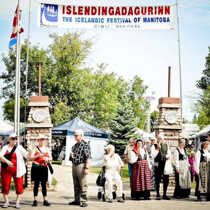 Islendingadagurin - The Icelandic Festival of Manitoba - Gimli Manitoba - Every August long weekend! Keep saying we're going to do this, keep ending up out of town. :(