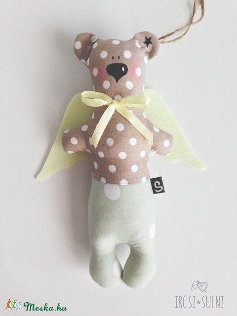 Őrangyal medve (ircsisufni) - Meska.hu