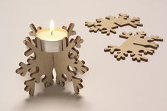 Star tealight holder - Studiomama