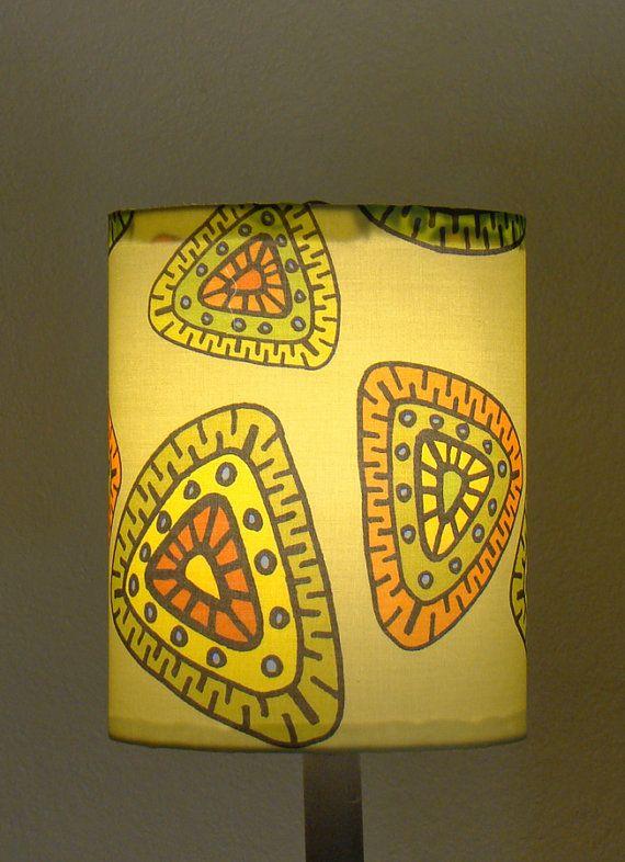 Finn Fab Designs Ancient Times Lamp Shade on Etsy, £35.83