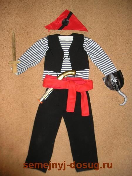 Пиратские штаны сшить самой