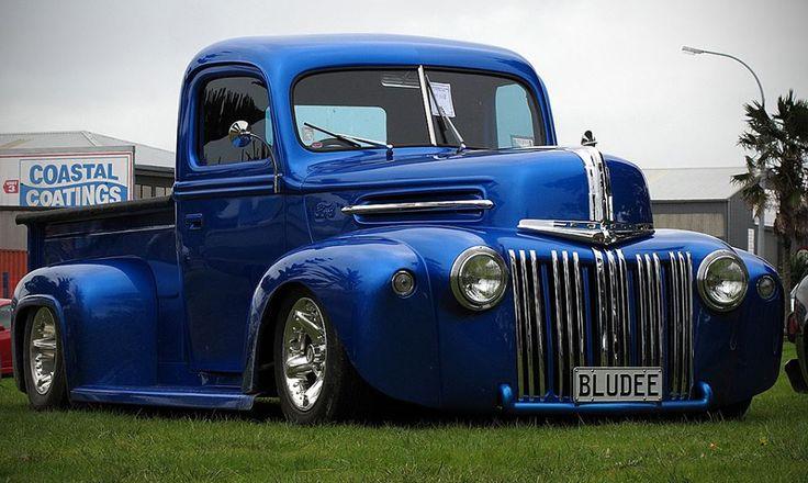 Antique Chevy Trucks For Sale 46 Ford Jailbar Pickup... | Bad Ass Pickup Trucks ...