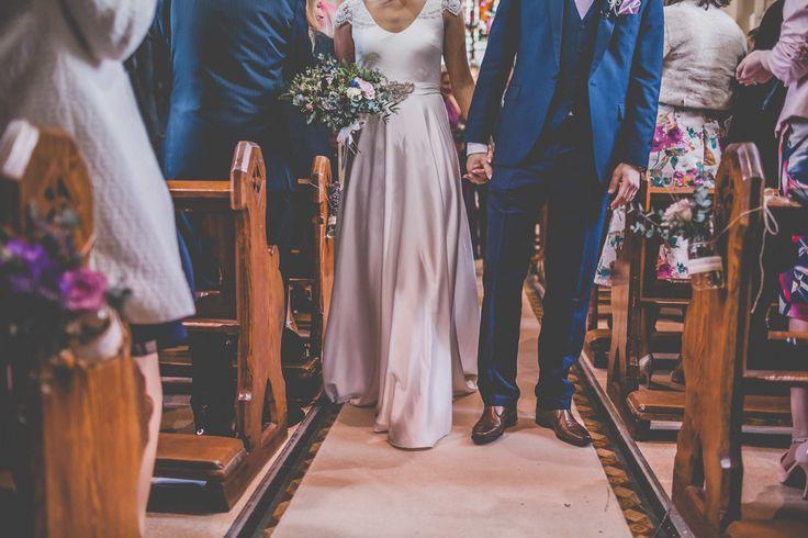 Edwina Arya bride wearing the Hepburn Gown