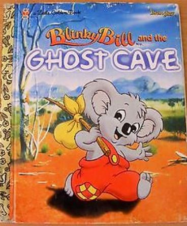 Blinky Bill and the Ghost Cave - Little Golden Book