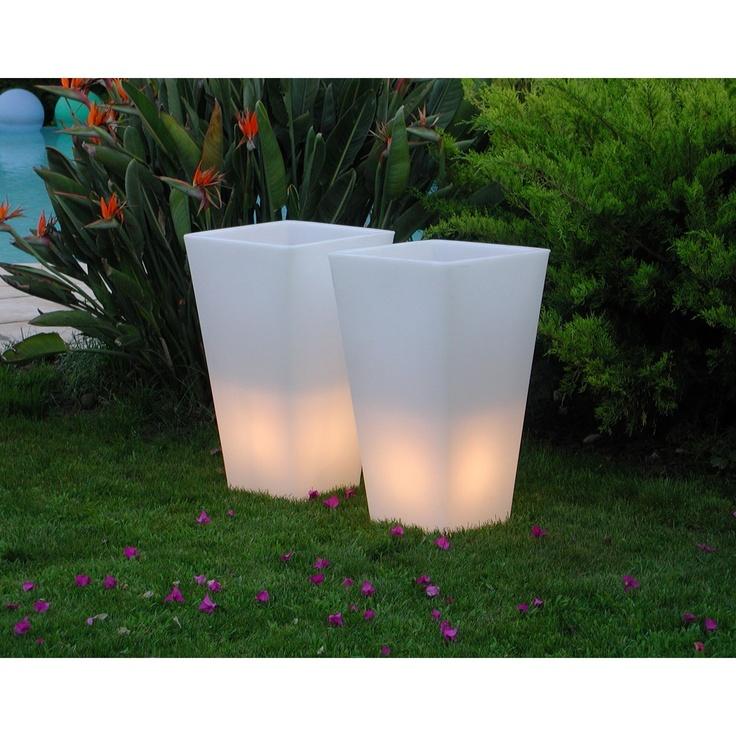 The 25 best macetas con luz ideas on pinterest luz - Macetas con luz ...