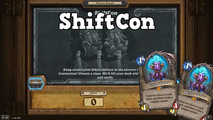 ShiftCon - Tavern Brawl [Hearthstone]