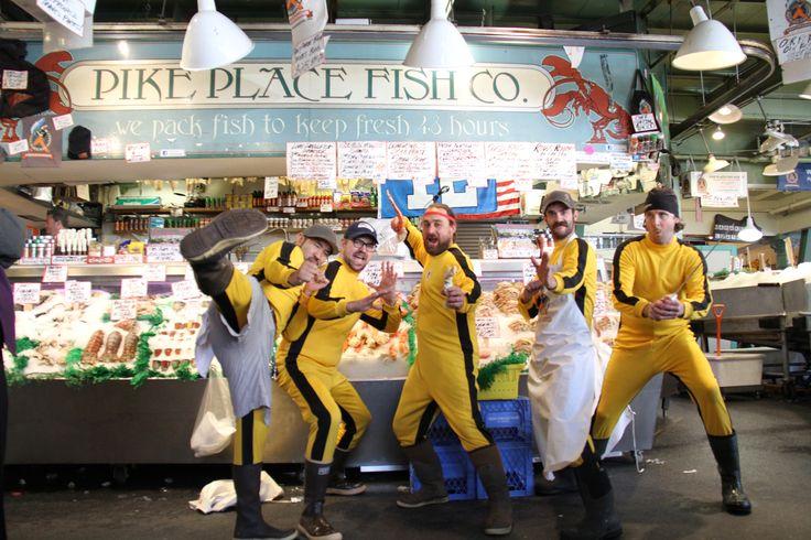 Fish Toss / Kung Fu experts!