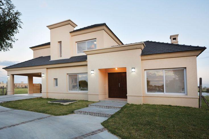 Arquinova casas fredi llosa casa estilo tradicional for Portal de arquitectos casa de campo