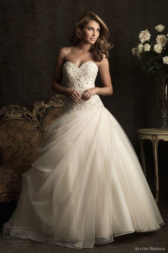 (:Princesses Dresses, Wedding Dressses, Ball Gowns, Princesses Wedding Dresses, Swarovski Crystals, Dreams Dresses, Allure Bridal, The Dresses, Wedding Dresses Style