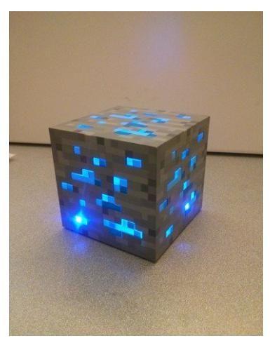 Znalezione obrazy dla zapytania minecraft lamp