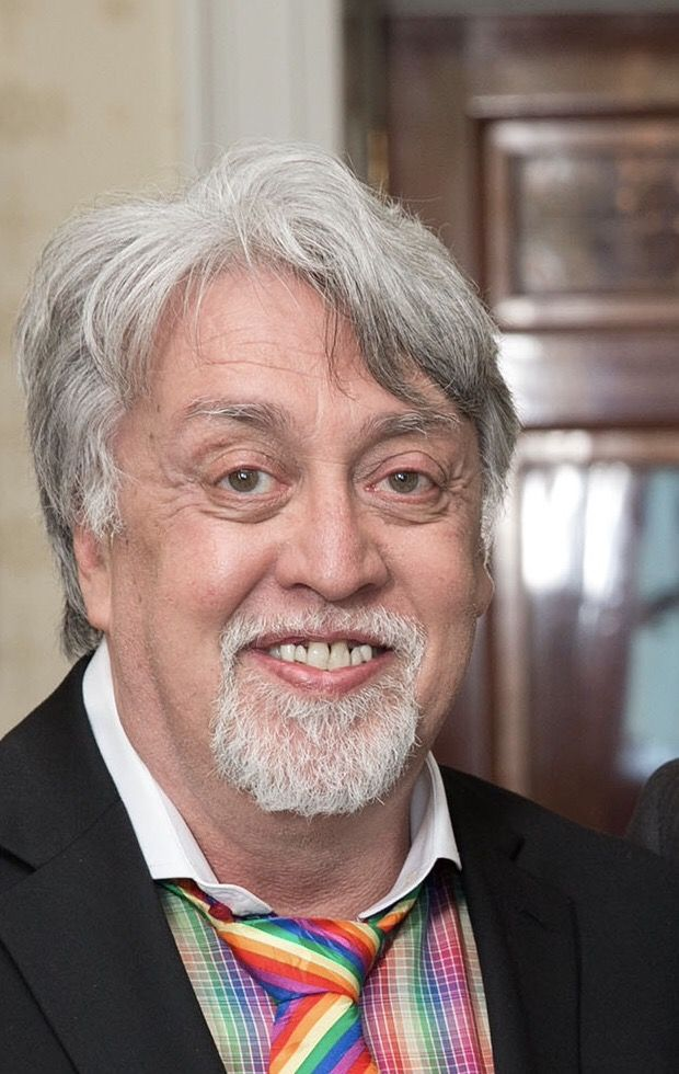 "Gilbert Baker (June 2, 1951 – March 31, 2017) was a homosexual American artist and civil rights activist who designed the rainbow flag in 1978.  It took a lot of talent to pick colors and lay them out in stripes. Due to his creation of the rainbow flag, Baker often used the drag queen name ""Busty Ross"".  Again, so, so talented."