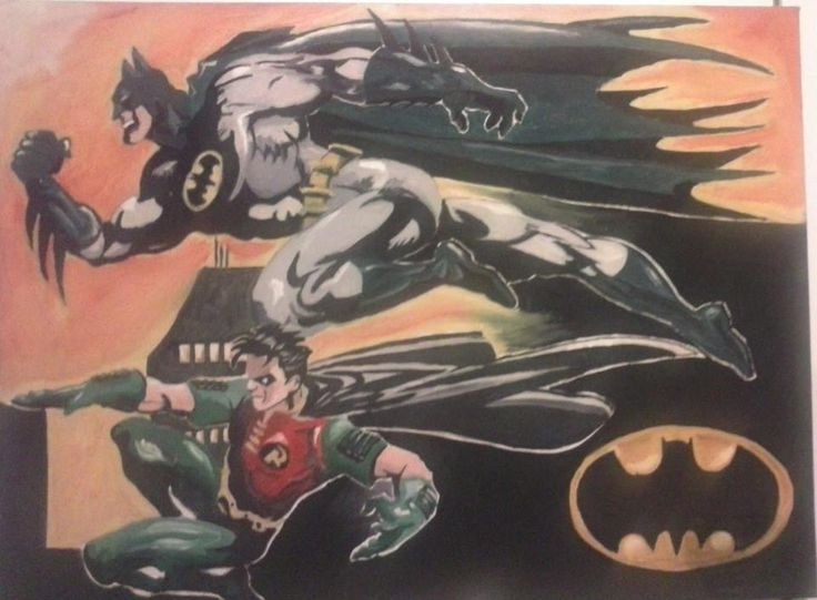 Batman And Robin Artist : Jackie Bateman