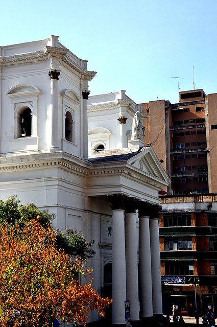 La Basílica de Santa Teresa es uno de los templos católicos más importantes de Caracas, centro principal de veneración a la imagen del Nazareno de San Pablo en la Semana Santa, está ubicada entre las esquinas de La Palma y Santa Teresa en el centro de la ciudad en la Parroquia Santa Teresa del Municipio Libertador. Caracas