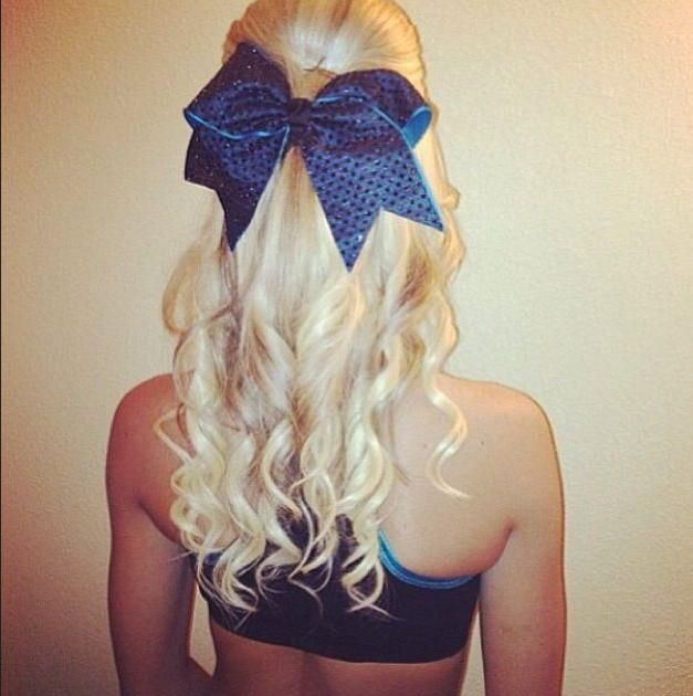Cheerleader Hairstyles cheer hair cheer mom cheer stuff cheerleader hairstyles cheerleading hair bows cheer stretches bow hairstyles college cheer cheer dance 7 Cute Cheerleader Hairstyles Hairstyle Mag