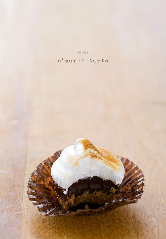 smores tarts: Olives Oil, Minis Tarts, Sweet Treats, Minis Smore, Minis Cupcakes Recipes, Peanut Butter, Minis S More, Smore Tarts, S More Tarts
