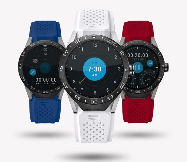 #HTE tag heuer enters luxury smartwatch market with android intel powered connected the luxury smartwatch is en