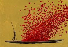 Obra del pintor colombiano Pedro Ruiz