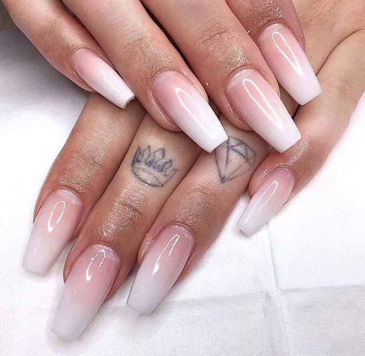 Acrylic Nails French: Best 25+ Ombre French Nails Ideas On Pinterest