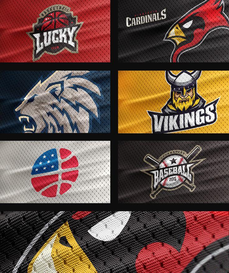 Sports Jersey Texture PSD Logo Mockup on Behance Logo
