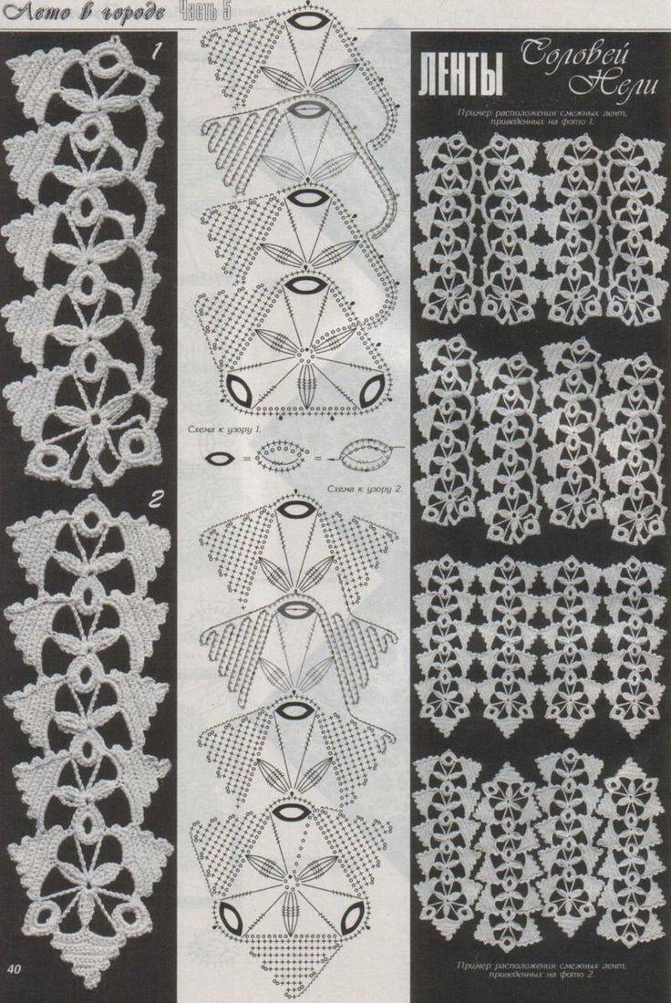 165 best Häkeln Kettenmuster - crochet images on Pinterest   Crochet ...