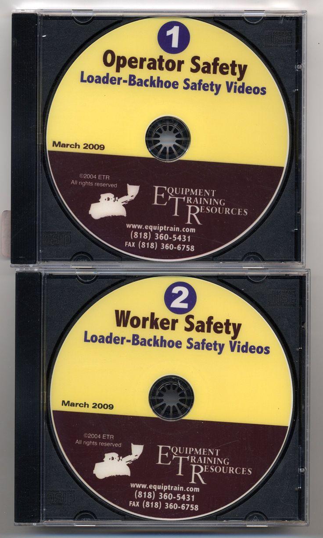 Loader/Backhoe Safety - Operator & Worker Safety (2 DVD Set)