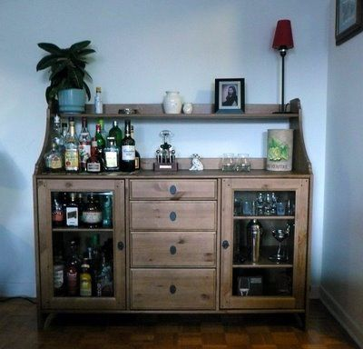 Liquor cabinet ikea google search home bar pinterest to be and cabinets Home bar furniture ikea