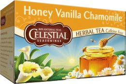 Honey Vanilla Chamomile Tea. It's like drinking dessert!! I just had it for the first time tonight, and I don't like tea, but this was delicious!!