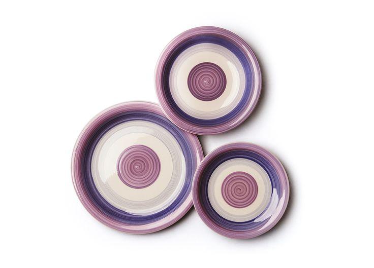 #Piatti #ceramica e #stoneware #colorati by Excelsa