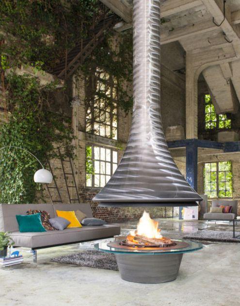 Eva fireplace 992 gross central open fire