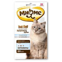 Лакомство для кошек Мнямс Здоровые зубы, уп. 60г