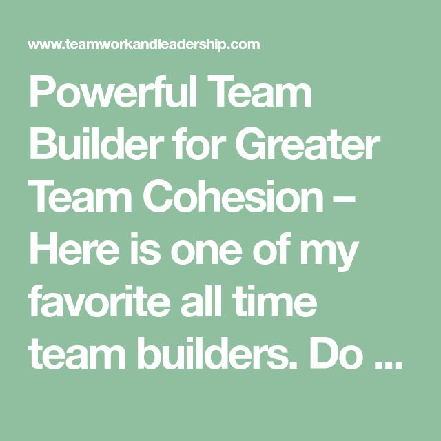 how cohesion affects team motivation Simple but effective ways to help motivate your employees and create a happier more productive workforce.