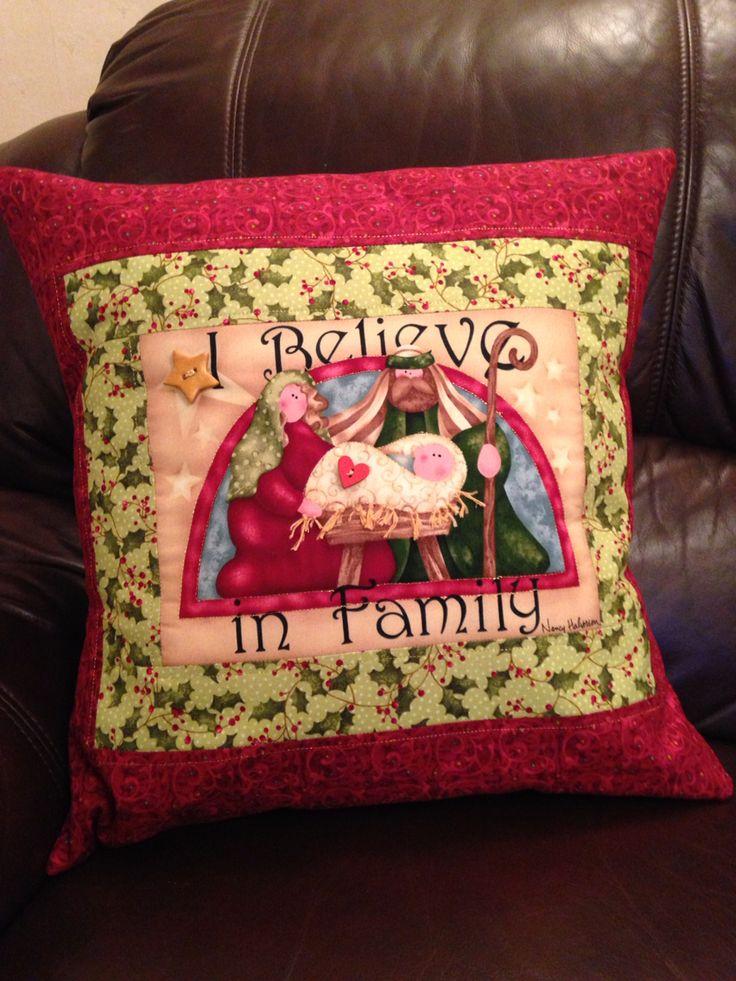 Nancy Halvorsen I believe panel cushions. Christmas!
