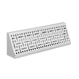 allen + roth White Steel Baseboard Register (Rough Opening: 18-in x 2.75-in; Actual: 17.75-in x 2.7-in) $15