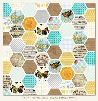 Mel Stampz: new freebies: my Hexagon Babies all grown up (and taking over the world!)