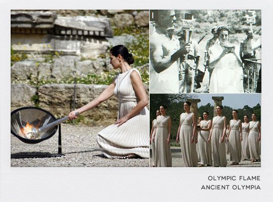 Ancient Olympia - The Olympic Flame