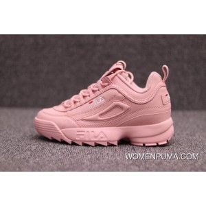 22441ca8b99a Pink Fila Disruptor 2 Athletic Shoe Best, Price   104.86 - Women Puma shoes,  Women Puma Rihanna Collection   WomenPuma.com